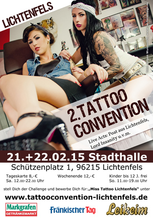 Grossansicht in neuem Fenster: Tattoo Convention