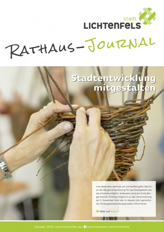 Rathaus Journal Titel